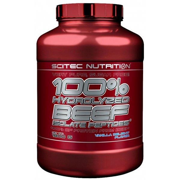 Scitec 100% Beef Isolate Peptides 1800 грScitec 100% Beef Isolate Peptides 1800 гр