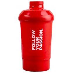 Prozis Nano Shaker 300 мл + 150 мл, Червен