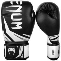 Боксови Ръкавици Challenger 3.0 VENUM, черен/бял