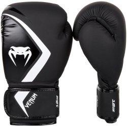 Боксови Ръкавици Venum Boxing Gloves Contender 2.0, черен/сив-бял