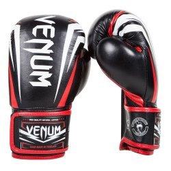 Боксови Ръкавици Venum Sharp, Черно/Бяло/Червено