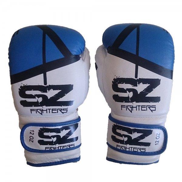 Боксови ръкавици естествена кожа Evo Victory BlueБоксови ръкавици Evo Victory ест. кожа Blue