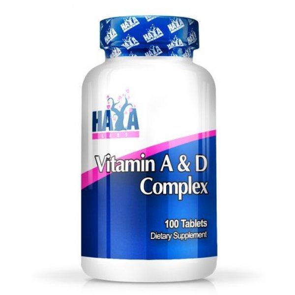 Haya Vitamin A & D 100 дражетаHaya Vitamin A & D 100 дражета