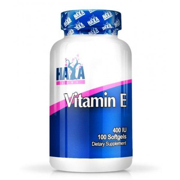 Haya Vitamin E 400 IU 100 капсулиHaya Vitamin E 400iu 100 капсули