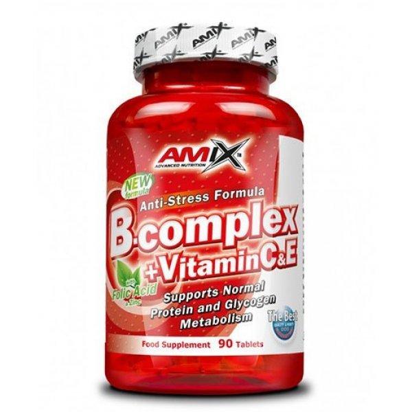 AMIX B-Complex + Vitamin C & E 90 таблетки AM112