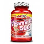 AMIX Vitamin C /with Rose Hips/ 500 мг 125 капсулиAM2981
