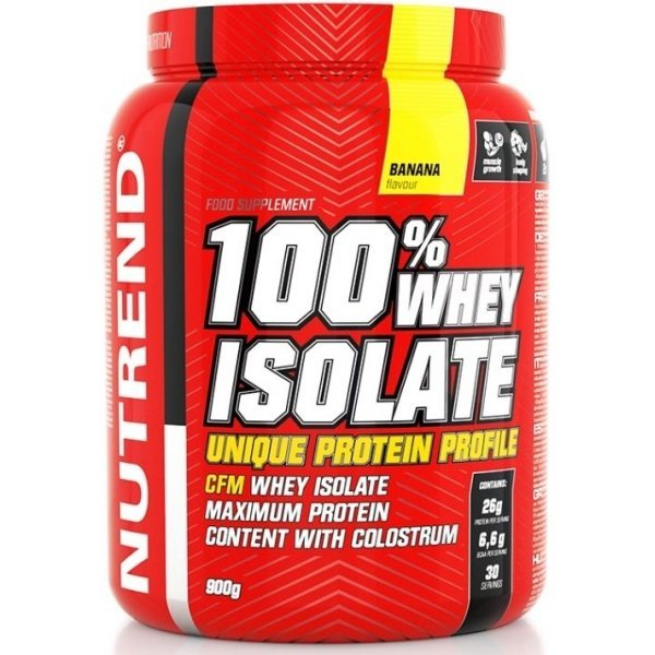 Nutrend 100% Whey Isolate 900 грNutrend 100% Whey Isolate 900 гр