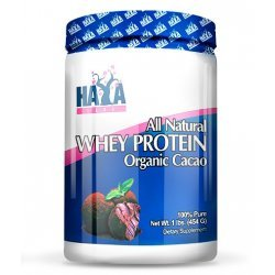 Haya 100% All Natural Whey Protein / Organic Cacao 454 гр