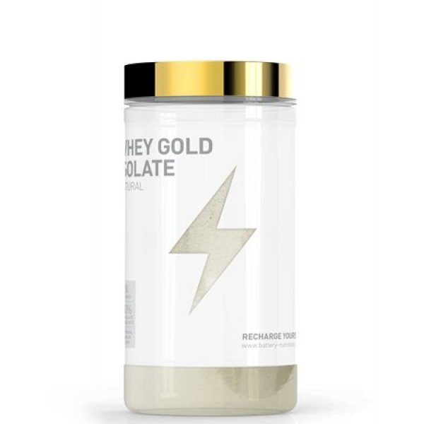Battery Whey Gold Isolate Natural Flavour 600 грBTN36
