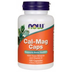 NOW Cal-Mag 120 капсули