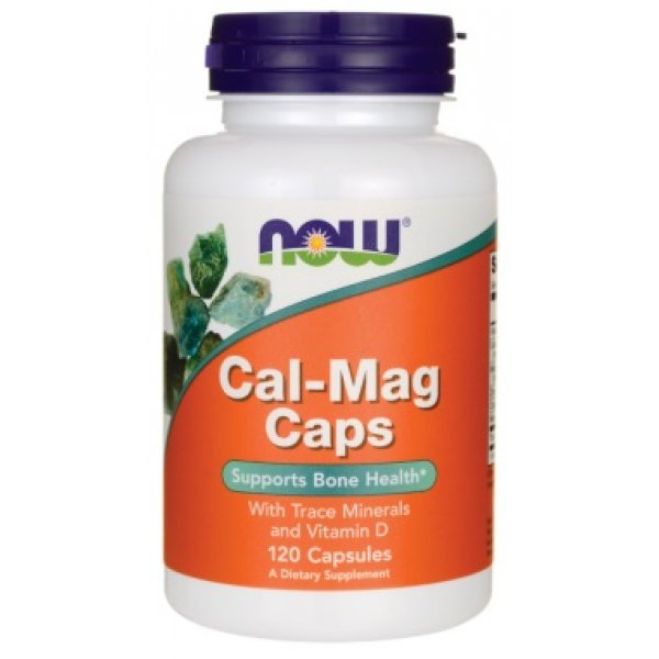 NOW Cal-Mag 120 капсулиNOW1265