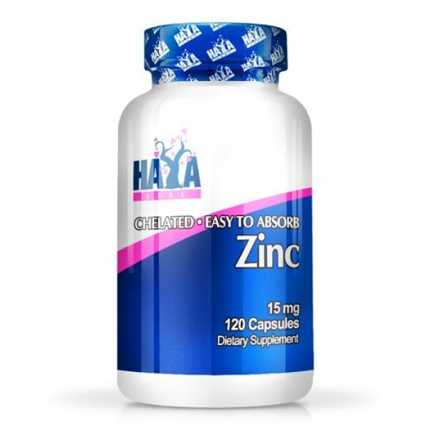 Haya Zinc 15 мг 120 капсулиHaya Zinc 15 мг 120 капсули