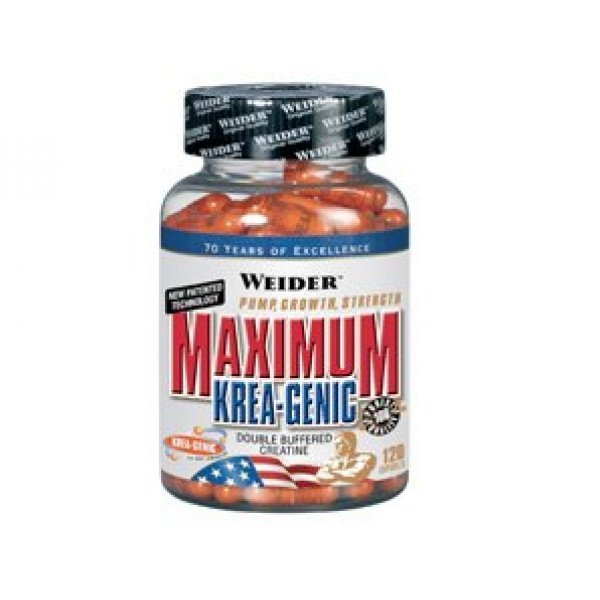 Weider MAXIMUM Krea-Genic 120 капсулиWeider MAXIMUM Krea-Genic 120 капсули