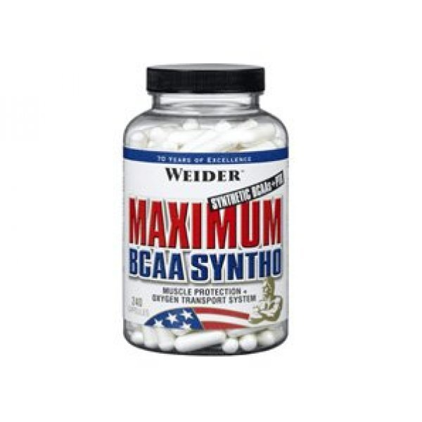 Weider Maximum BCAA Syntho 120 капсулиWeider Maximum BCAA Syntho 120 капсули