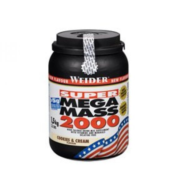 Weider Super Mega Mass 2000 1.5 кгWeider Super Mega Mass 2000 1,5 кг