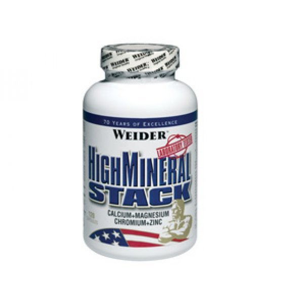 Weider High Mineral Stack 120 капсулиWeider High Mineral Stack