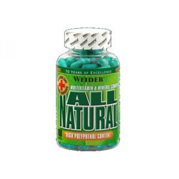 Weider All Natural 180 капсулиWeider All Natural