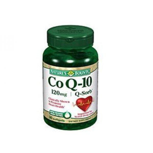 Коензим Q-10 120мгCo Q-10 120мг