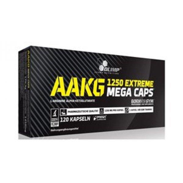 Olimp AAKG 1250 Extreme Mega Caps 120 капсулиOlimp AAKG 1250 Extreme Mega Caps 120 капсули