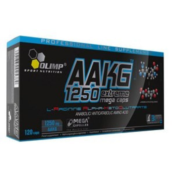 Olimp AAKG 1250 Extreme Mega Caps 300 капсулиOlimp AAKG 1250 Extreme Mega Caps 300 капсули