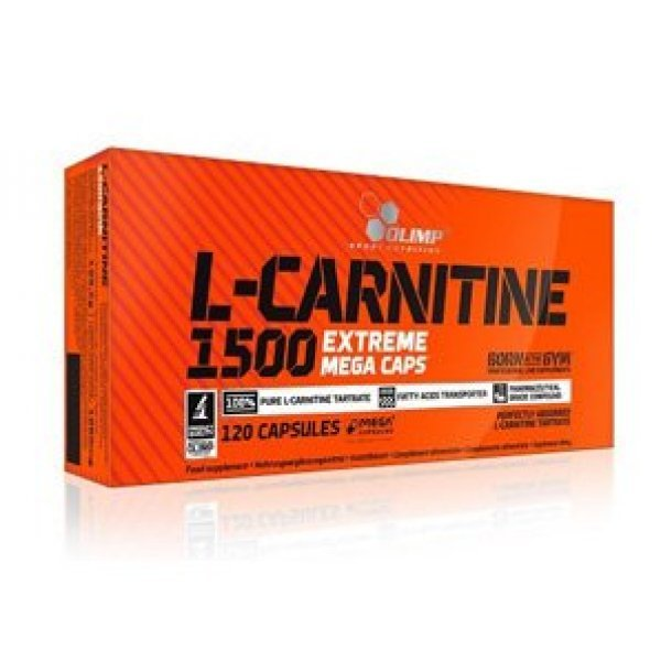 Olimp L-Carnitine 1500 Extreme 120 капсулиOlimp L-Carnitine 1500 Extreme 120 капсули