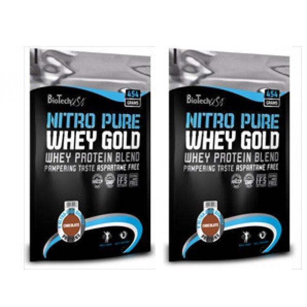 Biotech Nitro Gold Whey 454 гр X2 StackBiotech Nitro Gold Whey 454 гр X2 Stack