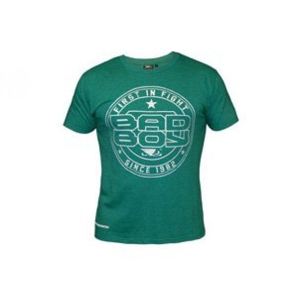 Зелена тениска с лого тип кръгъл печат на  Bad Boy Зелена тениска с лого тип кръгъл печат на  Bad Boy