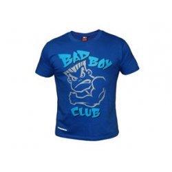 Тъмно синя тениска с картинка и надпис Bad Boy