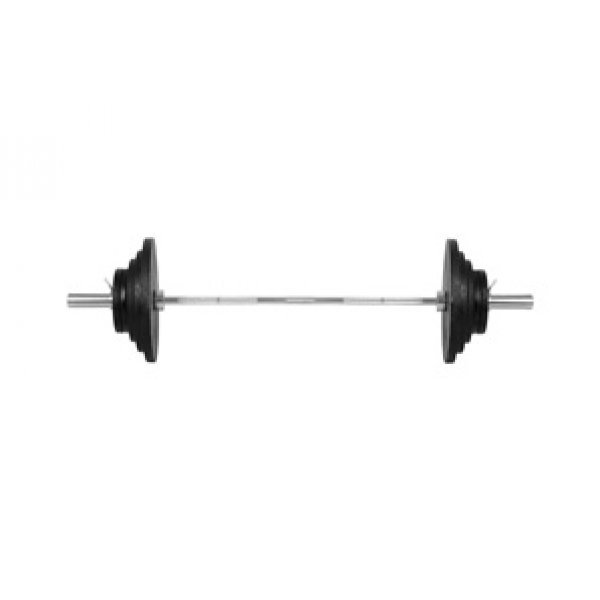 Олимпийски комплект тежести BS11 inSPORTline 140 кгin 93