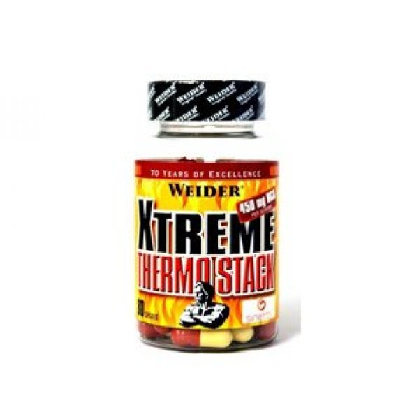 Weider Xtreme Thermo Stack 80 капсулиWeider Xtreme Thermo Stack 80 капсули