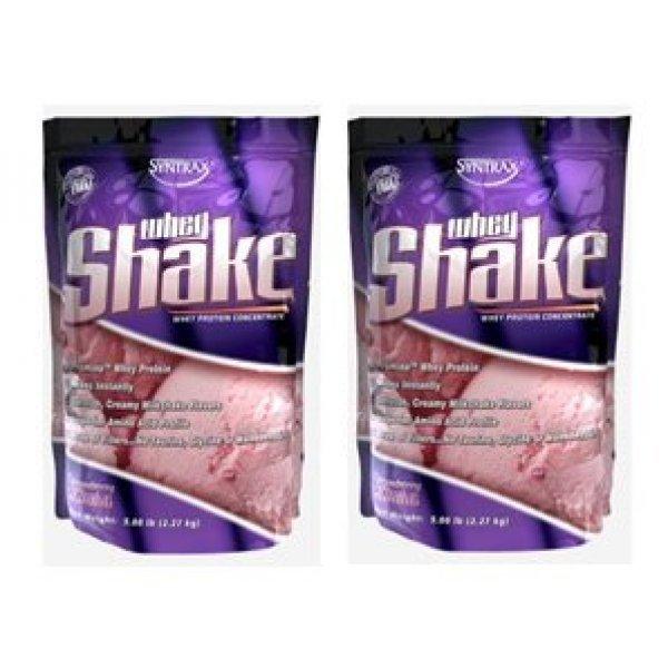 Syntrax Whey Shake 2270 гр X2 StackSyntrax Whey Shake 2270 гр X2 Stack