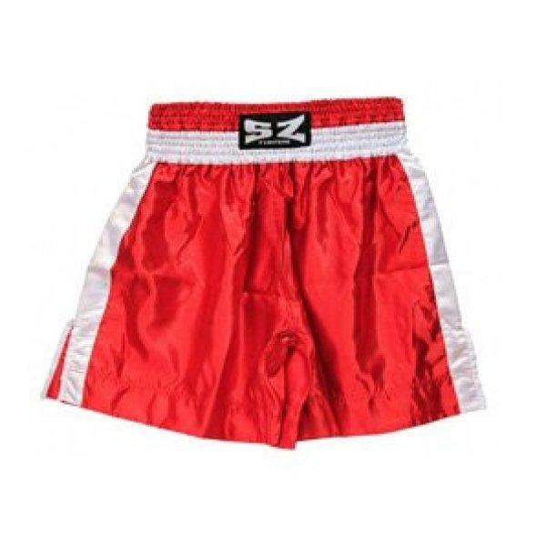 Боксови шорти SZ Fighters червени Боксови шорти SZ Fighters червени