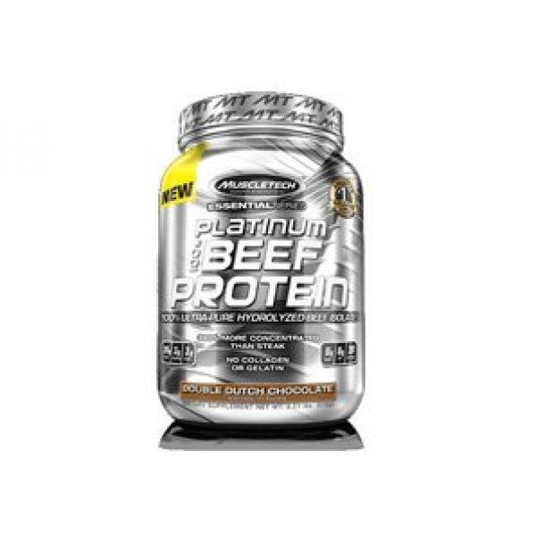 MuscleTech Platinum Beef Protein 908 грMuscleTech Platinum Beef Protein 908 гр
