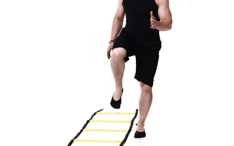 Тренировка с бърза стълба