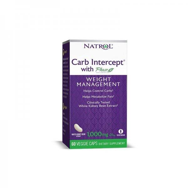 Natrol White Kidney Bean Carb Intercept 60 капсули NAT467