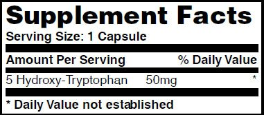 5-HTP_50mg_90caps_facts