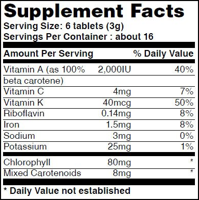 Broken_Cell_Wal_Chlorella_500mg_100tabs_facts