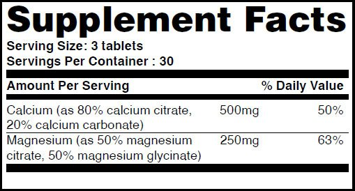 Cal-Mag_Citrate_90tabs_facts