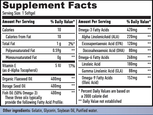Резултат с изображение за HAYA LABS Omega 3-6-9  supplements
