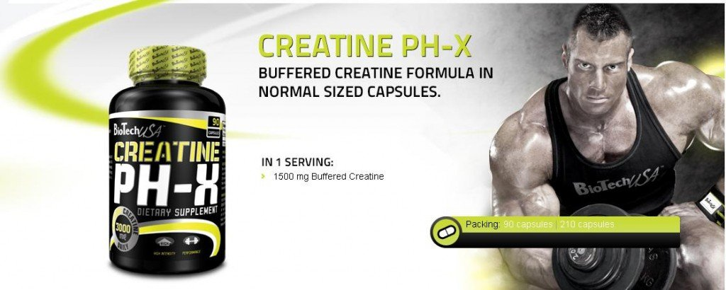 creatine ph 90 ad