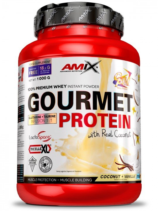 AMIX Gourmet Protein 1000 гр 2