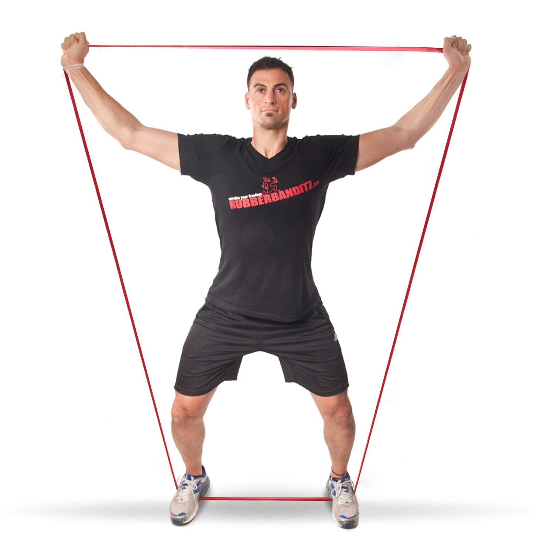 Ластична лента за упражнения, набирания и тренировка Armageddon Sports, Червен 7