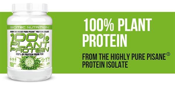 Scitec 100% Plant Protein 900 гр 2